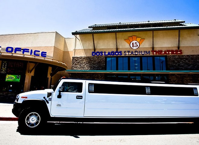 Hummer Limo in Highland