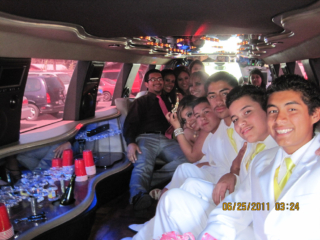 Family Limo Party Highland