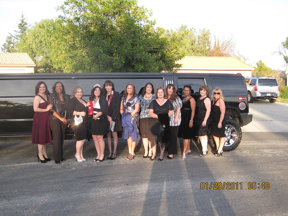 Happy Customer Stretch Suv Limo Highland