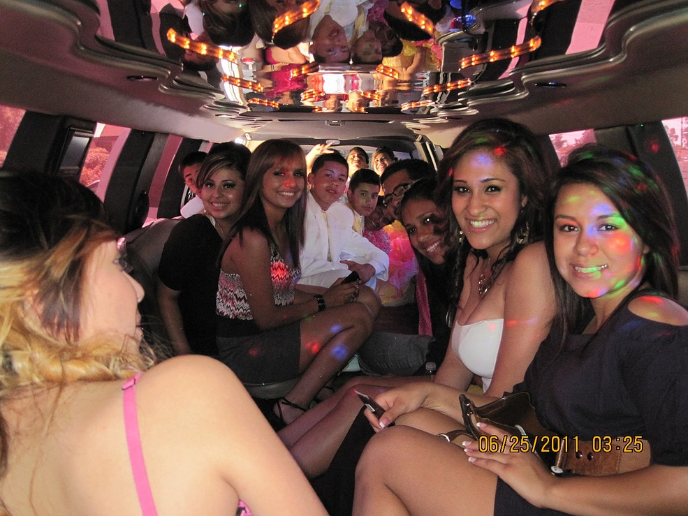 Highland Graduation Party Limousine